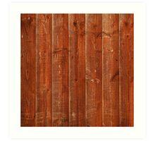 Wood plank Art Print