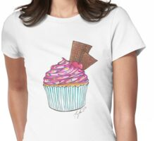 Cupcake Sundae Womens Fitted T-Shirt