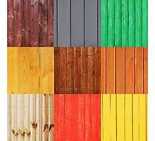 Wood planks Photographic Print