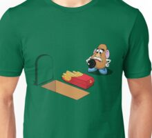 Toy Story Mr Potato Head Burying his dead Unisex T-Shirt