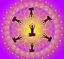 Yoga Mandala by Sarah Niebank