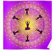 Yoga Mandala Poster