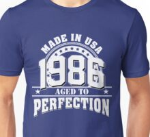 1986 aged to perfection Unisex T-Shirt
