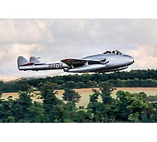 DH100 Vampire FB.6 PX-K LN-DHY Photographic Print