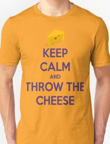 Throw the Cheese Unisex T-Shirt