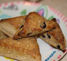 Blueberry Scones by Chef Jami Cakes by Rebecca Dru