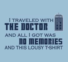Lousy Doctor Who t-shirt by Lillyeven
