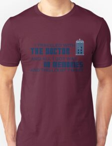 Lousy Doctor Who t-shirt T-Shirt
