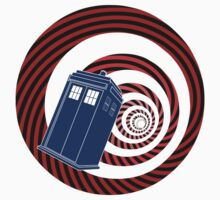 TARDIS Mod Vortex One Piece - Short Sleeve