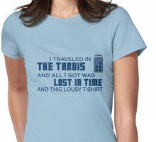 Lousy TARDIS t-shirt Womens Fitted T-Shirt