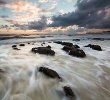 Sunset @ Birling Gap by willgudgeon