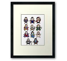 Doctor Hoots Framed Print
