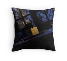 Spooky Cheese Throw Pillow