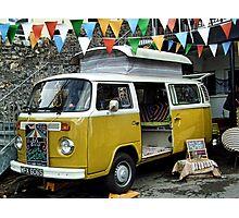 Colorful  Camper Van  Photographic Print