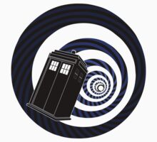 TARDIS Mod Vortex One Piece - Short Sleeve