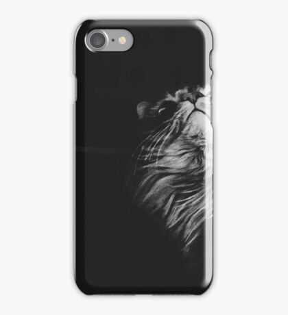 All cats are grey in the dark iPhone Case/Skin