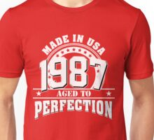 1987 aged to perfection Unisex T-Shirt