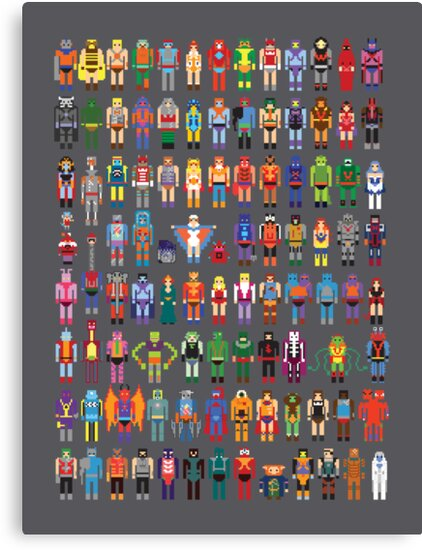 8-bit Masters by Brad linf
