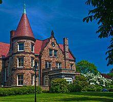 USA. Rhode Island. Newport. Mansion. by vadim19