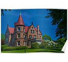 USA. Rhode Island. Newport. Mansion. Poster