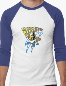 WolverEevee Men's Baseball ¾ T-Shirt