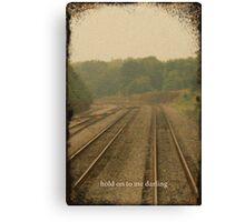 Railroad Track 2 Canvas Print