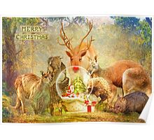 Capturing The Christmas Spirit Poster