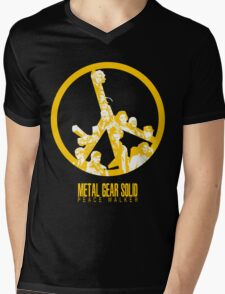 MGS: PEACE WALKER  Mens V-Neck T-Shirt