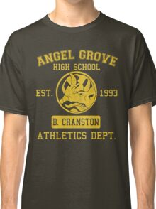 Angel Grove H.S. (Blue Ranger Edition) Classic T-Shirt