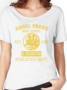 Angel Grove H.S. (Blue Ranger Edition) Women's Relaxed Fit T-Shirt