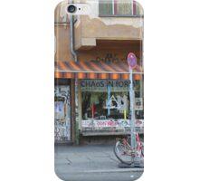 Berlin east chaos !  iPhone Case/Skin