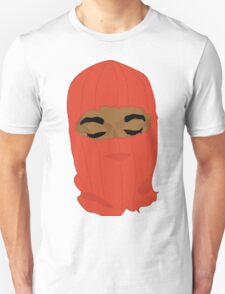 red yeezy  hood T-Shirt