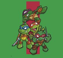 teenage mutant ninja turtles!!!!!!! by Bunleungart