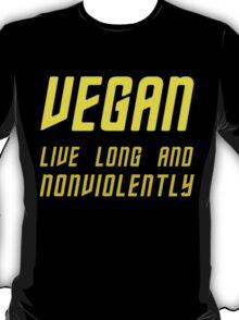 Vegan (TOS Font w/ Subheading) T-Shirt