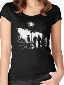 The Hunters (Supernatural) [No Text] Women's Fitted Scoop T-Shirt