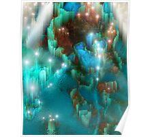 Rainbow Grotto Poster