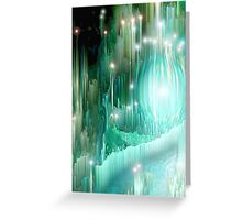 Heart of the Crystal Forest Greeting Card
