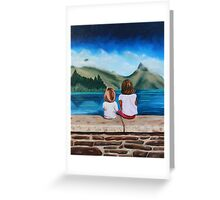 Being with Grace Greeting Card