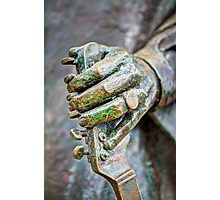 The hand of Stevie Ray Photographic Print