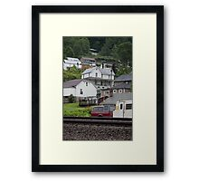 Davy, West Virginia Community Framed Print