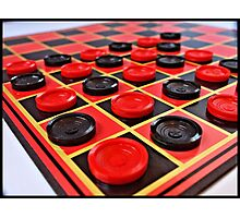 Checkers Photographic Print