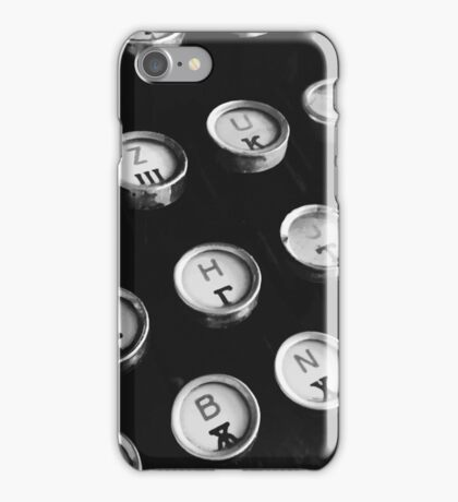 Old fashioned type iPhone Case/Skin