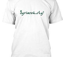 Syria-ously? by Beth28