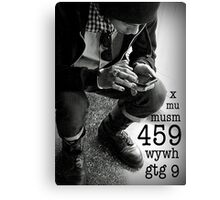 459 means I Love You Canvas Print