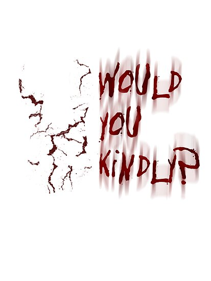 Bioshock 'Would You Kindly?' tee by Copperoxide