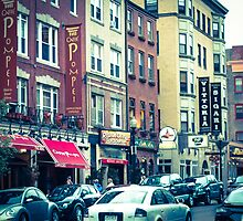 BOSTON NORTH END CITY Wall CALENDAR by Elizabeth Thomas