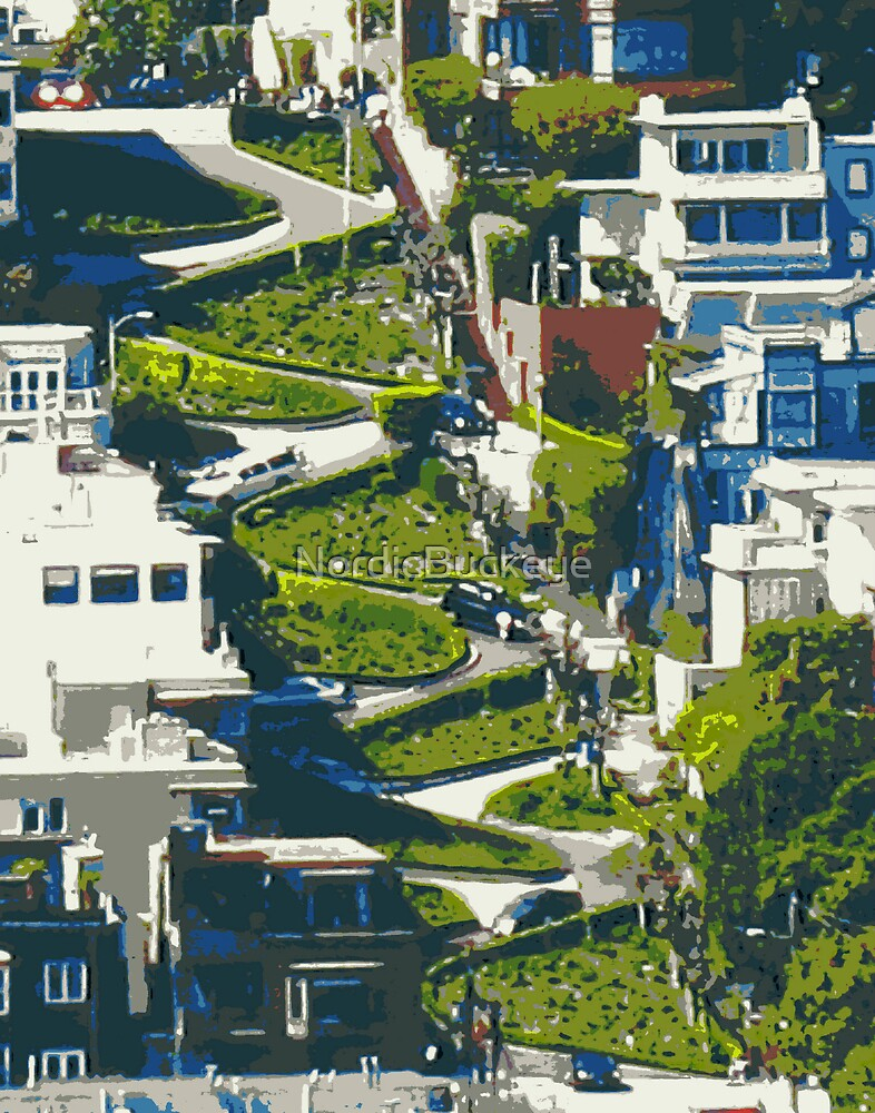 Lombard Street by Nathan Jekich
