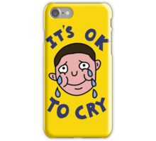 OK TO CRY iPhone Case/Skin