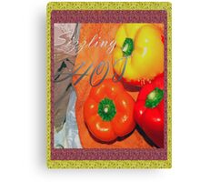 Sizzling hot Canvas Print