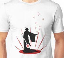 Silhouette of a Geisha  Unisex T-Shirt